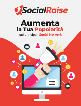 Aumenta i tuoi follower, like e visualizzazioni su Instagram, Facebook e Youtube